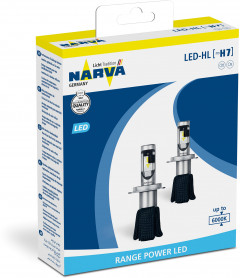 Автолампы Narva Range Power LED H7 (18005)