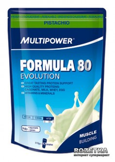 Протеин Multipower Formula 80 Evolution 510 г Pistachio (4006643107447)