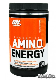 Аминокислота Optimum Nutrition Essential Amino Energy 30 порций Orange Cooler (748927025255)