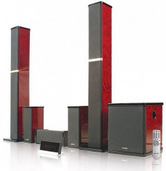 Microlab H-600 Red Wood
