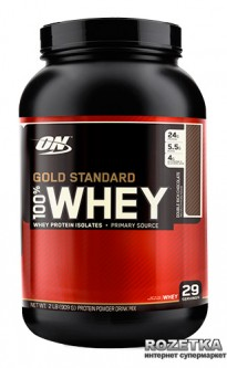 Протеин Optimum Nutrition 100% Whey Gold Standard 909 г