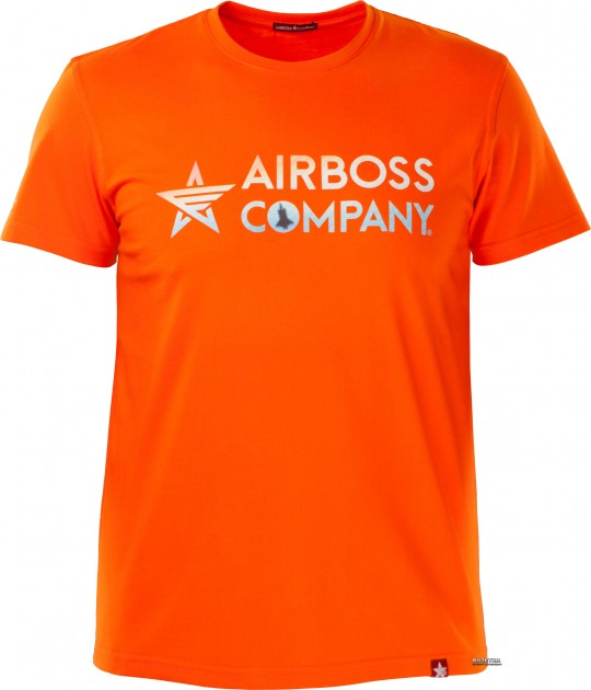 Мужская футболка Airboss Mars logo XL Orange (MSU357746)