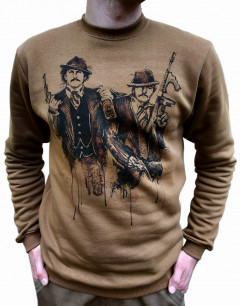 Свитшот P1G-Tac Winter Sweatshirt Pablo Just Say No UA281-29911-PB-CB L Coyote Brown (2000980457151)