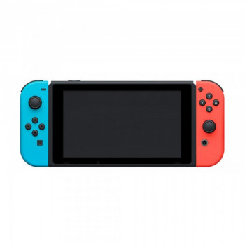 Nintendo Switch Neon Blue-Red + Игра Minecraft