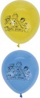 Воздушные шары Home & Styling Collection 23 см 8 шт Pirate (P36000210_pirate)