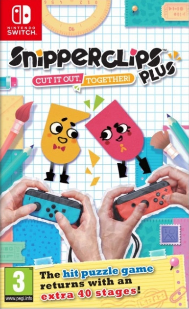 Snipperclips Plus Cut it out together - изображение 1