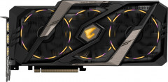 Gigabyte PCI-Ex GeForce RTX 2080 Aorus 8GB GDDR6 (256bit) (1845/14000) (Type-C, 3 x HDMI, 3 x Display Port) (GV-N2080AORUS-8GC)