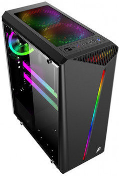 Корпус 1STPLAYER Rainbow R3-R1 (Color LED) Black