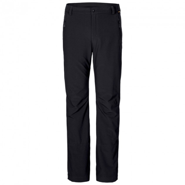 Брюки утепленные ACTIVATE WINTER PANTS MEN Jack Wolfskin 1500062-6001 54 Черный (4052936259195) - зображення 1
