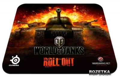 Ігрова поверхня SteelSeries QcK World of Tanks Speed (SS67269)