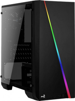 Корпус Aerocool PGS Cylon Mini RGB Black