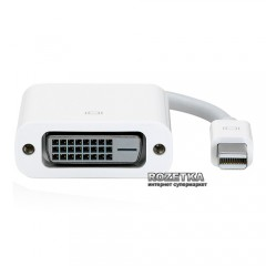 Адаптер Apple Mini DisplayPort to DVI (MB570Z/B)