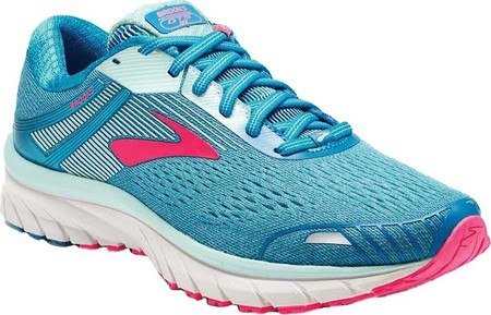 b2491dec Женские кроссовки Brooks Adrenaline GTS 18 Running Shoe Blue/Mint/Pink 36  (100039