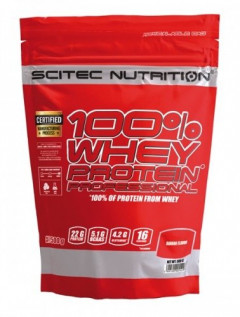 Протеин Scitec Nutrition 100% Whey Protein Professional 500 g /16 servings/ Chocolate Coconut 500 г