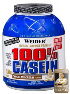 Протеин Weider 100% Casein 1800 g /72 servings/ Red Fruits 1800 г