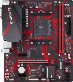 Материнская плата Gigabyte B450M Gaming (sAM4, AMD B450, PCI-Ex16)