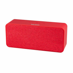 Wesdar Bluetooth Speaker K13 Soft Touch vs Canvas Red (PBS-000007)
