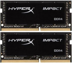 Оперативная память HyperX SODIMM DDR4-2400 32768MB PC4-19200 (Kit of 2x16384) Impact (HX424S14IBK2/32)