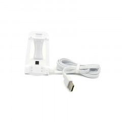 Кабель Lonsmax Micro USB Flat with Stand function 1M White