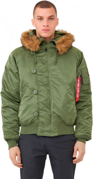 Куртка Alpha Industries N-2B Parka 4XL Sage Green
