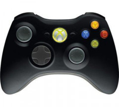 Геймпад безпроводной Microsoft Xbox 360 Wireless Black