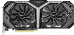 Palit PCI-Ex GeForce RTX 2070 GameRock Premium 8GB GDDR6 (256bit) (1410/14000) (Type-C, HDMI, 3 x DisplayPort) (NE62070H20P2-1061G)