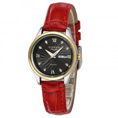 Часы Guanqin Gold-Black-Red GQ80007-AV CL (GQ80007-AVGBR)
