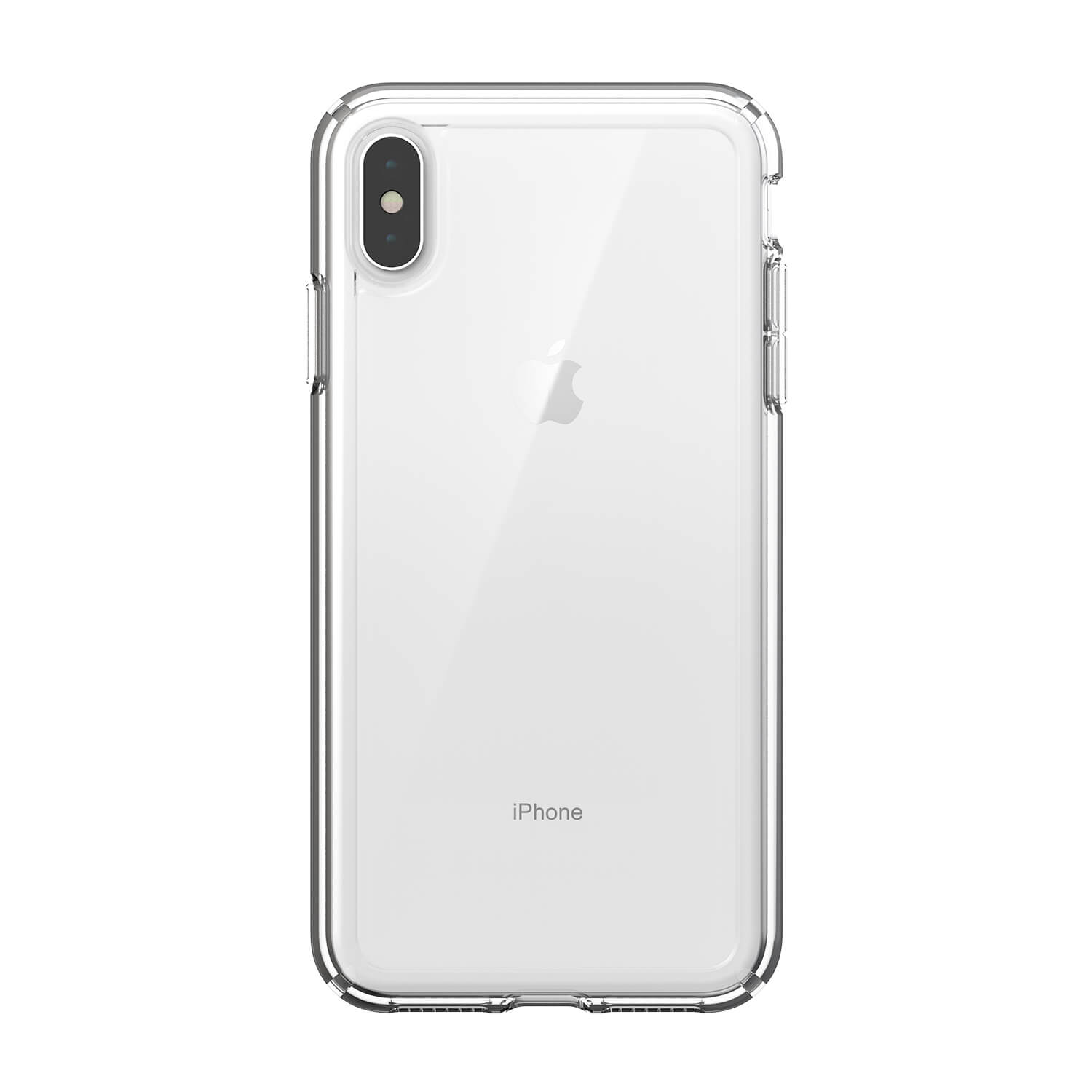 8d546e388 Чехол-накладка Speck for Apple iPhone Xs Max GEMSHELL Clear/Clear (SP-