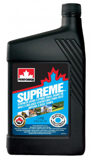 Моторное масло Petro-Canada Supreme Synthetic Blend 2-Stroke Small Engine Oil 1 л