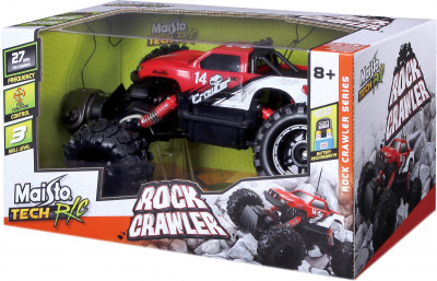 Автомодель на р/к Rock Crawler Maisto Red (81152 red)
