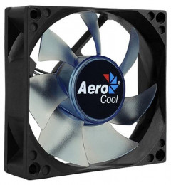 Вентилятор Aerocool Motion 8 Blue LED 80мм, 3-pin