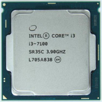 Процесор Intel Core i3 7100 3.9 GHz (3MB, Kaby Lake, 51W, S1151) Tray (CM8067703014612)