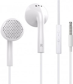HeyDr Y-02 Wired Earphones White (F_51813)