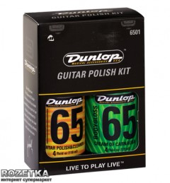 Набор Dunlop System 65 Guitar Polish Kit (6501)