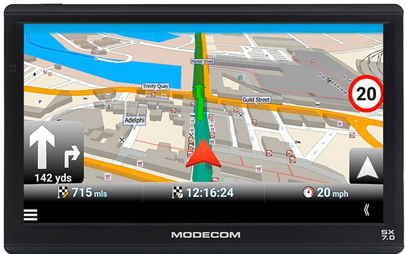 GPS навигатор Modecom Device FreeWAY SX 7.0 MapFactor (NAV-FREEWAYSX70-MF-EU)