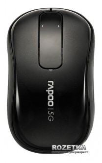 Мышь Rapoo T120p Touch Wireless Black