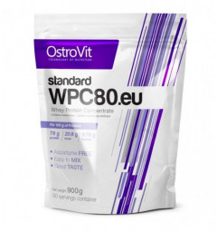 Протеин OstroVit Standard WPC80.eu 900 g /30 servings/ Natural 900 г
