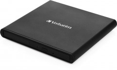 Verbatim External Slimline CD/DVD Writer (53504)