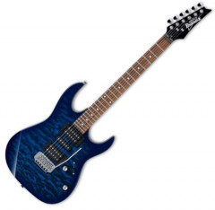 Электрогитара Ibanez GRX70QA Transparent Blue Burst (224094)