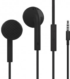 HeyDr Y-02 Wired Earphones Black