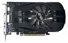 Видеокарта ASUS GeForce GTX750 2Gb DDR5 Refurbished