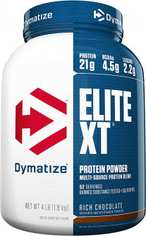 Протеин Dymatize Nutrition Elite XT 1.8 кг Rich Chocolate (705016921126)