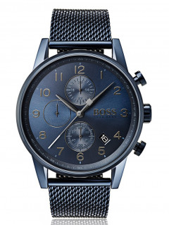 Часы Hugo Boss 1513538 Navigator Chrono 44mm 5ATM