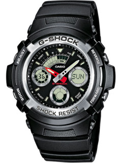 Часы CASIO AW-590-1AER G-SHOCK 46mm 20ATM