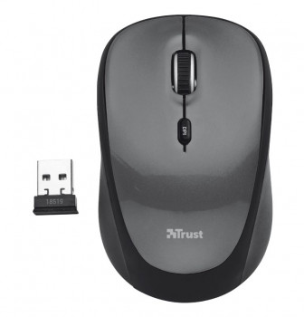 Миша Trust Yvi Wireless Grey (TR18519)