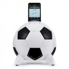 Speakal miSoccer Black (2.1 Stereo iPod Docking Station with 5 Speakers) (MISOCCER-BLK)