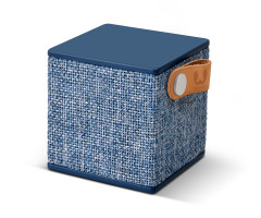 Fresh 'N Rebel Rockbox Cube Fabriq Edition Bluetooth Speaker Blue (1RB1000IN)