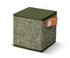 Fresh 'N Rebel Rockbox Cube Fabriq Edition Bluetooth Speaker DarkGreen (1RB1000AR)