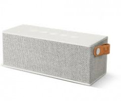 Fresh 'N Rebel Rockbox Brick Fabriq Edition Bluetooth Speaker Silver (1RB3000CL)