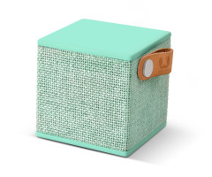 Fresh 'N Rebel Rockbox Cube Fabriq Edition Bluetooth Speaker Green (1RB1000PT)